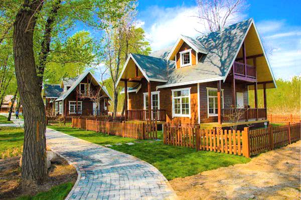 度假型木屋别墅